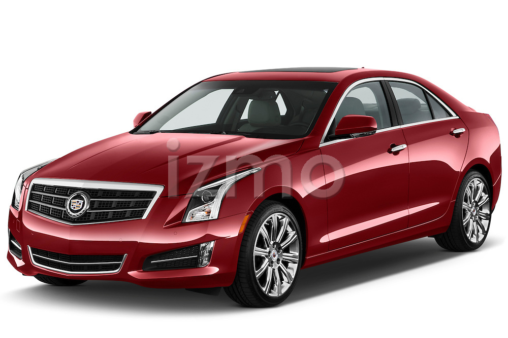 Front three quarter view of a .  2013 Cadillac ATS sedan