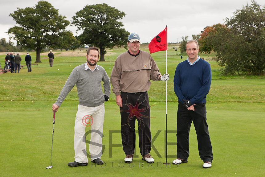 Brett & Randall/Cox/Massers team: Martin Cox, Russell Thompson and Andy Corah