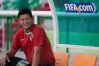Wilmer Cabrera. US Men's National Team Under 17 defeated Malawi 1-0 in the second game of the FIFA 2009 Under-17 World Cup at Sani Abacha Stadium in Kano, Nigeria on October 29, 2009.
