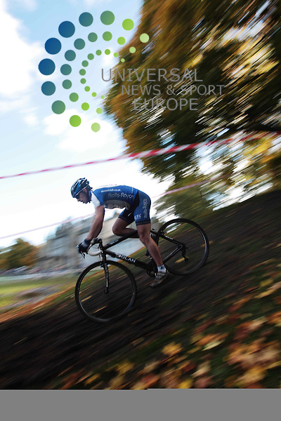 The opening round of the Scottish Cyclocross Series held in Callender Park, Falkirk. <br />