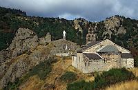 Europe/France/Auvergne/43/Haute-Loire/Monistrol-d'Allier: La chapelle Notre-Dame-d'Estours (XIIème siècle)