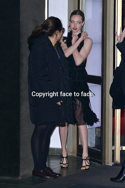 """Amanda Seyfried attending """"Les Miserables"""" Premiere at Friedrichstadtpalast, Berlin, 09.02.2013...Credit: Michael Timm/face to face"""