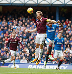 Christophe Berra and Alfredo Morelos