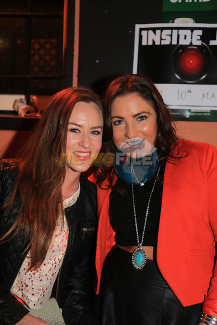 Melissa Brannigan and Helen Gibbons.in McPhails.Picture: Fran Caffrey / www.newsfile.ie ..