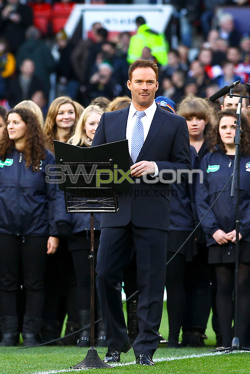 Picture by Alex Whitehead/SWpix.com - 30/11/2013 - Rugby League - Rugby League World Cup Final - New Zealand v Australia - Old Trafford, Manchester, England - Russell Watson.