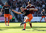 Sheffield United's Jack O'Connell in action during the League One match at the Sixfields Stadium, Northampton. Picture date: April 8th, 2017. Pic David Klein/Sportimage