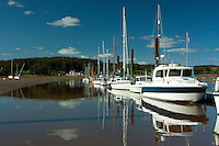 Kircudbright Marina and the River Dee, Kirkcudbright, Galloway