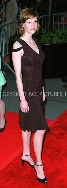 "Hilary Swank at the New York premiere of ""Unfaithful"" at Ziegfeld Theater. New York, May 6, 2002. Please byline: Alecsey Boldeskul/NY Photo Press.   ..*PAY-PER-USE*      ....NY Photo Press:  ..phone (646) 267-6913;   ..e-mail: info@nyphotopress.com"