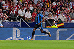 Club Brugge's Clinton Mata during UEFA Champions League match between Atletico de Madrid and Club Brugge at Wanda Metropolitano Stadium in Madrid, Spain. October 03, 2018. (ALTERPHOTOS/A. Perez Meca)