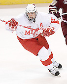 Stephen Dennis - The Boston College Eagles defeated the Miami University Redhawks 5-0 in their Northeast Regional Semi-Final matchup on Friday, March 24, 2006, at the DCU Center in Worcester, MA.