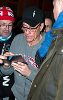 December 11 2017, PARIS FRANCE<br /> Actor Jean Claude Van Damme arrives at<br /> the program C a Vous in France 5 channel<br /> Paris.