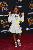 Marsai Martin at the premiere for Disney's &quot;Beauty and the Beast&quot; at El Capitan Theatre, Hollywood. Los Angeles, USA 02 March  2017<br /> Picture: Paul Smith/Featureflash/SilverHub 0208 004 5359 sales@silverhubmedia.com