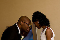 Four Seasons Hotel Atlanta Wedding of Carl Johnson and Ciji Dixon.