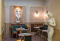 Austria, Upper Austria, Salzkammergut, Bad Ischl: Café Zauner at Esplanade avenue in the centre of town | Oesterreich, Oberoesterreich, Salzkammergut, Bad Ischl: Café Zauner an der Esplanade im Zentrum