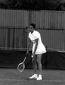 1977, Wimbledon, England. Virginia Wade, English former tennis player. She won three Grand Slam singles championships and four Grand Slam doubles championships, and is the only British woman in history to have won titles at all four Grand Slam tournaments. She was ranked as high as No. 2 in the world in singles, and No. 1 in the world in doubles. She won the women's singles championship at Wimbledon on 1 July 1977, in that tournament's centenary year, and remains the last British woman to have won a Grand Slam singles tournament.