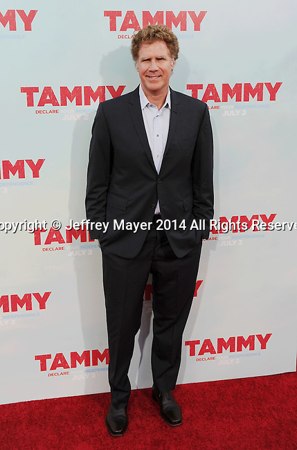HOLLYWOOD, CA- JUNE 30: Actor Will Ferrell arrives at the 'Tammy' - Los Angeles Premiere at TCL Chinese Theatre on June 30, 2014 in Hollywood, California.