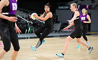 22.09.2018 Silver Ferns Elisapeta Toeava in action during Silver Ferns training in Melbourne. Mandatory Photo Credit ©Michael Bradley.