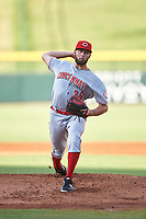 AZL Reds starting pitcher Ryan Hendrix (36) during a rehab assignment in an Arizona League game against the AZL Cubs 2 on July 23, 2019 at Sloan Park in Mesa, Arizona. AZL Cubs 2 defeated the AZL Reds 5-3. (Zachary Lucy/Four Seam Images)