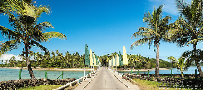 Causeway to Yanuca Island and the Shangri-La's Fijian Resort and Spa on Viti Levu, Fiji