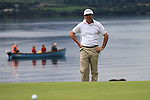 Gonzalo Fdez-Castano lines up putt on the 5th green during the Final Day of the 3 Irish Open at the Killarney Golf & Fishing Club, 1st August 2010..(Picture Eoin Clarke/www.golffile.ie)