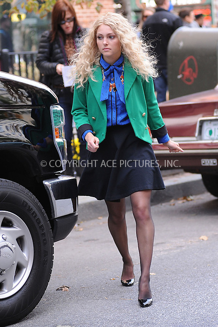WWW.ACEPIXS.COM . . . . . .October 17, 2012...New York City....AnnaSophia Robb on the set of the TV Show 'The Carrie Diaries' in Chelsea on October 17, 2012 in New York City ....Please byline: KRISTIN CALLAHAN - ACEPIXS.COM.. . . . . . ..Ace Pictures, Inc: ..tel: (212) 243 8787 or (646) 769 0430..e-mail: info@acepixs.com..web: http://www.acepixs.com .