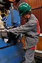 21/02/12 - LES ANCIZES - PUY DE DOME - FRANCE - Entreprise de siderurgie AUBERT et DUVAL - Photo Jerome CHABANNE