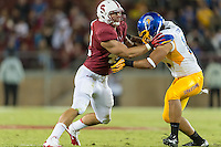 STANFORD, CA - AUGUST 31 2012: Alex Debniak during the Stanford Cardinal 20-17 win over San Jose State.