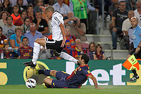 FC Barcelona vs Valencia CF, September 2, 2012
