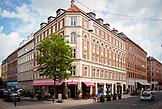 DENMARK, Copenhagen, Tree among the Buildings in Copenhagen, Europe