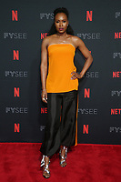 LOS ANGELES, CA - MAY 30: Sydelle Noel at the #NETFLIXFYSEE Glow Event at NETFLIX FYSEE Raleigh Studios in Los Angeles, California on May 30, 2018. <br /> CAP/MPIFS<br /> &copy;MPIFS/Capital Pictures