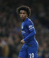 Chelsea's Willian<br /> <br /> Photographer Rob Newell/CameraSport<br /> <br /> The Emirates FA Cup Fifth Round - Chelsea v Liverpool - Tuesday 3rd March 2020 - Stamford Bridge - London<br />  <br /> World Copyright © 2020 CameraSport. All rights reserved. 43 Linden Ave. Countesthorpe. Leicester. England. LE8 5PG - Tel: +44 (0) 116 277 4147 - admin@camerasport.com - www.camerasport.com