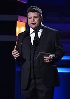 SANTA MONICA, CA - JANUARY 11: Sean Aston at the 23rd Annual Critics' Choice Movie Awards at Barker Hangar on January 11, 2018 in Santa Monica, California. (Photo by Frank Micelotta/PictureGroup)