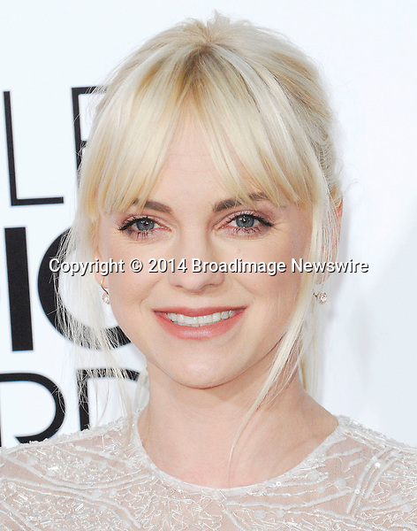 Pictured: Anna Faris<br /> Mandatory Credit &copy; Adhemar Sburlati/Broadimage<br /> People's Choice Awards 2014 - Arrivals<br /> <br /> 1/8/14, Los Angeles, California, United States of America<br /> <br /> Broadimage Newswire<br /> Los Angeles 1+  (310) 301-1027<br /> New York      1+  (646) 827-9134<br /> sales@broadimage.com<br /> http://www.broadimage.com