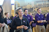The groundbreaking for Northwestern's new Ryan Fieldhouse and Walter Athletics Center on Friday November 13th, 2015. Photos by Jasmin Shah.