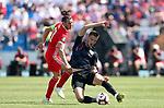 08.06.2019., stadium Gradski vrt, Osijek - UEFA Euro 2020 Qualifying, Group E, Croatia vs. Wales. Gareth Bale, Borna Barisic.<br /> <br /> Foto © nordphoto / Goran Stanzl/PIXSELL