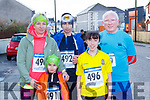 Martina and Barbara and Kacper Podraza Castleisland, Kelly Anne Nix Castleisland and john Robinson Mallow at the run Santa Run 5k in Castleisland on Sunday