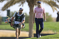 Oliver Wilson (ENG) on the 8th green during the 1st round of  the Saudi International powered by Softbank Investment Advisers, Royal Greens G&CC, King Abdullah Economic City,  Saudi Arabia. 30/01/2020<br /> Picture: Golffile | Fran Caffrey<br /> <br /> <br /> All photo usage must carry mandatory copyright credit (© Golffile | Fran Caffrey)