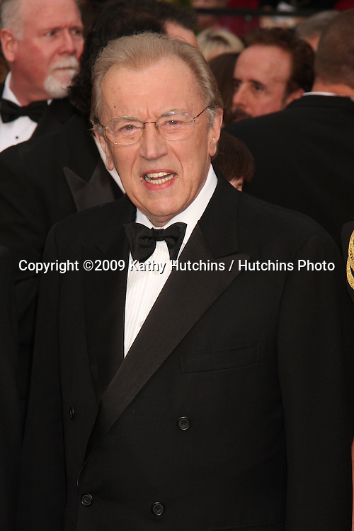 David Frost  arriving at the 81st Academy Awards at the Kodak Theater in Los Angeles, CA  on.February 22, 2009.©2009 Kathy Hutchins / Hutchins Photo...                .