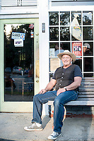 The Minister of Music at Merritt's Store and Grill, Bob Herring.