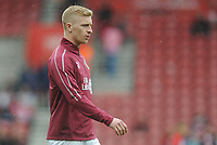 Burnley's Ben Mee during the pre-match warm-up <br /> <br /> Photographer Kevin Barnes/CameraSport<br /> <br /> The Premier League - Southampton v Burnley - Sunday August 12th 2018 - St Mary's Stadium - Southampton<br /> <br /> World Copyright &copy; 2018 CameraSport. All rights reserved. 43 Linden Ave. Countesthorpe. Leicester. England. LE8 5PG - Tel: +44 (0) 116 277 4147 - admin@camerasport.com - www.camerasport.com