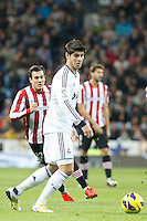 Real Madrid CF vs Athletic Club de Bilbao (5-1) at Santiago Bernabeu stadium. The picture shows Alvaro Morata. November 17, 2012. (ALTERPHOTOS/Caro Marin) NortePhoto