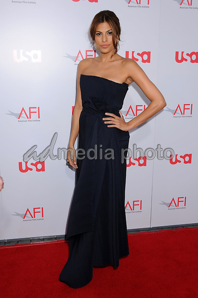 12 June 2008 - Hollywood, California - Eva Mendes. 36th Annual AFI Life Achievement Award at the Kodak Theatre. Photo Credit: Byron Purvis/AdMedia