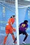 FC Barcelona vs Montpellier HSC: 1-2.<br /> Casey Murphy &amp; Andressa Alves.