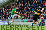 Alan O'Sullivan Dr Crokes in action against Robert Wharton South Kerry in the Senior County Football Final in Austin Stack Park on Sunday