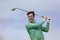 Richard Knightly (The Royal Dublin) during the first round of matchplay at the 2018 West of Ireland, in Co Sligo Golf Club, Rosses Point, Sligo, Co Sligo, Ireland. 01/04/2018.<br /> Picture: Golffile | Fran Caffrey<br /> <br /> <br /> All photo usage must carry mandatory copyright credit (&copy; Golffile | Fran Caffrey)