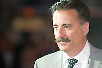 US actor Andy Garcia attends 2010 Fiction Fest in Rome, Italy.
