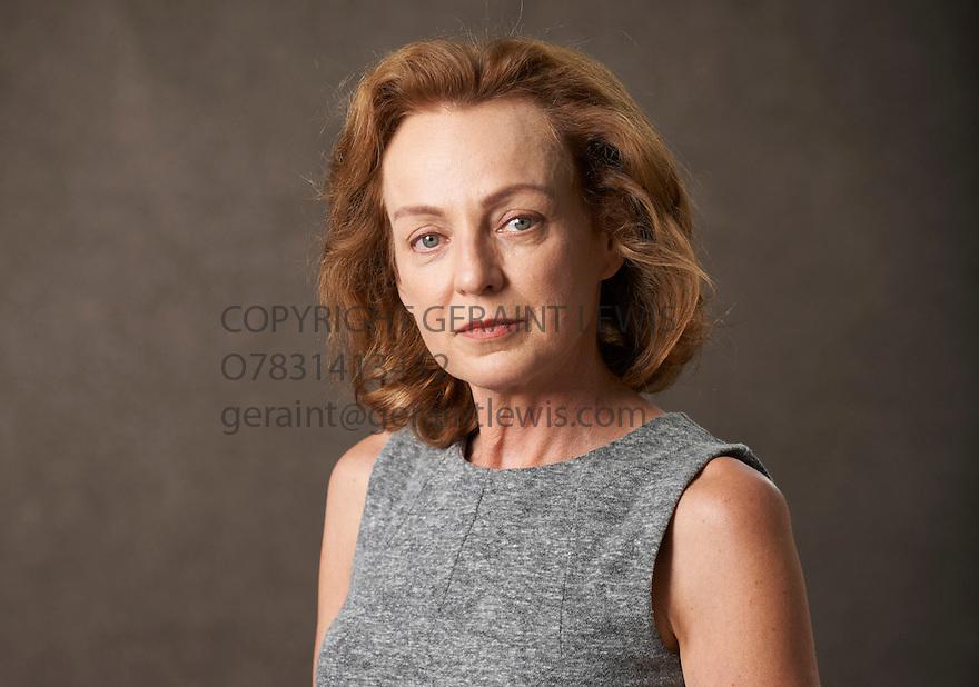 Elaine Proctor, actress, novelist and writer of Rhumba at The Edinburgh International Book Festival   . Credit Geraint Lewis