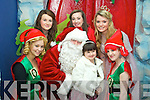 Pictured at the launch of CH Christmas parade which takes place in Tralee on the 1st of December were front l-r: Linda Byrne, Santa and Sarah from the Make A Wish Foundation and Amy Leahy..Back l-r: Aisling Ringland, Nicole Comerford and Una Nolan..