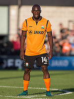 Simeon Akinola of Barnet during the 2017/18 Pre Season Friendly match between Barnet and Swansea City at The Hive, London, England on 12 July 2017. Photo by Andy Rowland.