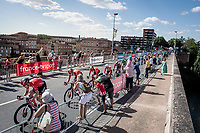 450 meters from the finish<br /> <br /> Stage 10: Saint-Flour to Albi(217km)<br /> 106th Tour de France 2019 (2.UWT)<br /> <br /> ©kramon